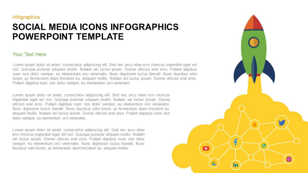 Social Media Icons for PowerPoint Presentation