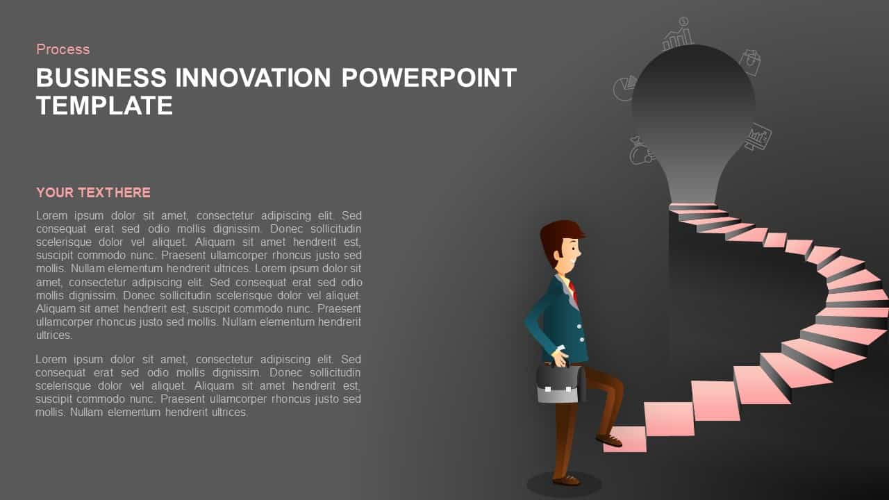 Business innovation powerpoint and keynote slide