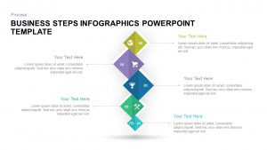 Business Steps Infographic Template for PowerPoint and Keynote