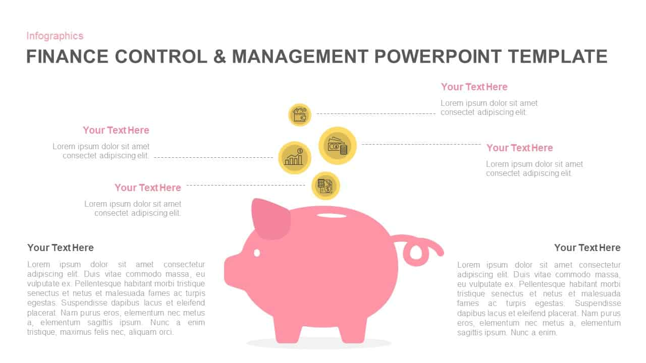 Financial management PowerPoint template
