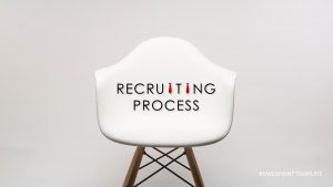 Recruiting Process Template for PowerPoint Presentation
