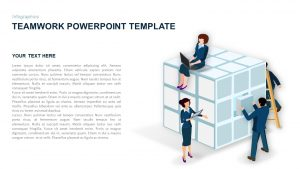 Teamwork PowerPoint Template and Keynote Slide