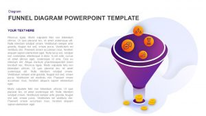 Funnel Diagram PowerPoint Template and Keynote Slide