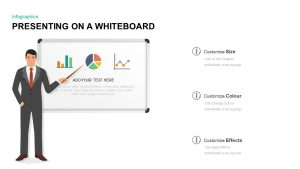 Whiteboard PowerPoint Template and Keynote Diagram
