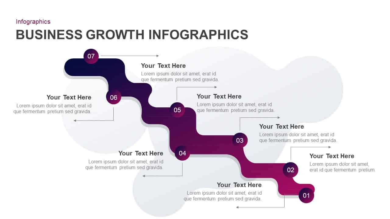 Business Growth Infographic PowerPoint Template