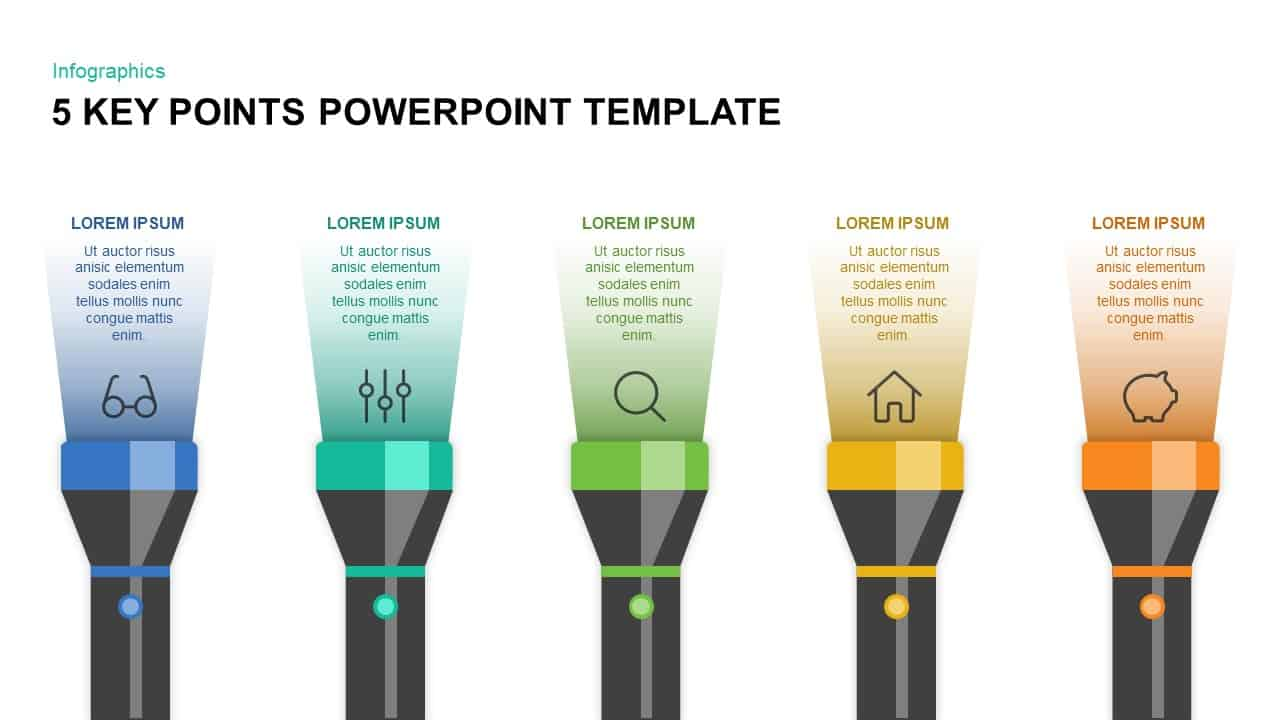 Key Points PowerPoint Template