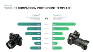 Product Comparison PowerPoint Template & Keynote Diagram