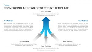 Converging Arrows Template for PowerPoint & Keynote