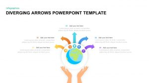 Diverging Arrows Template for PowerPoint & Keynote