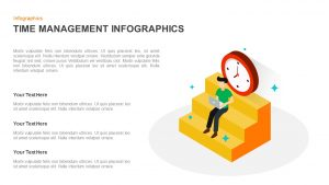 Time Management Infographic Template for PowerPoint & Keynote
