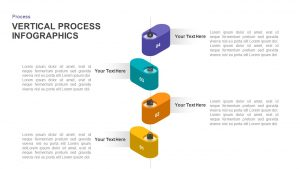 Vertical Process Infographic Template for PowerPoint & Keynote