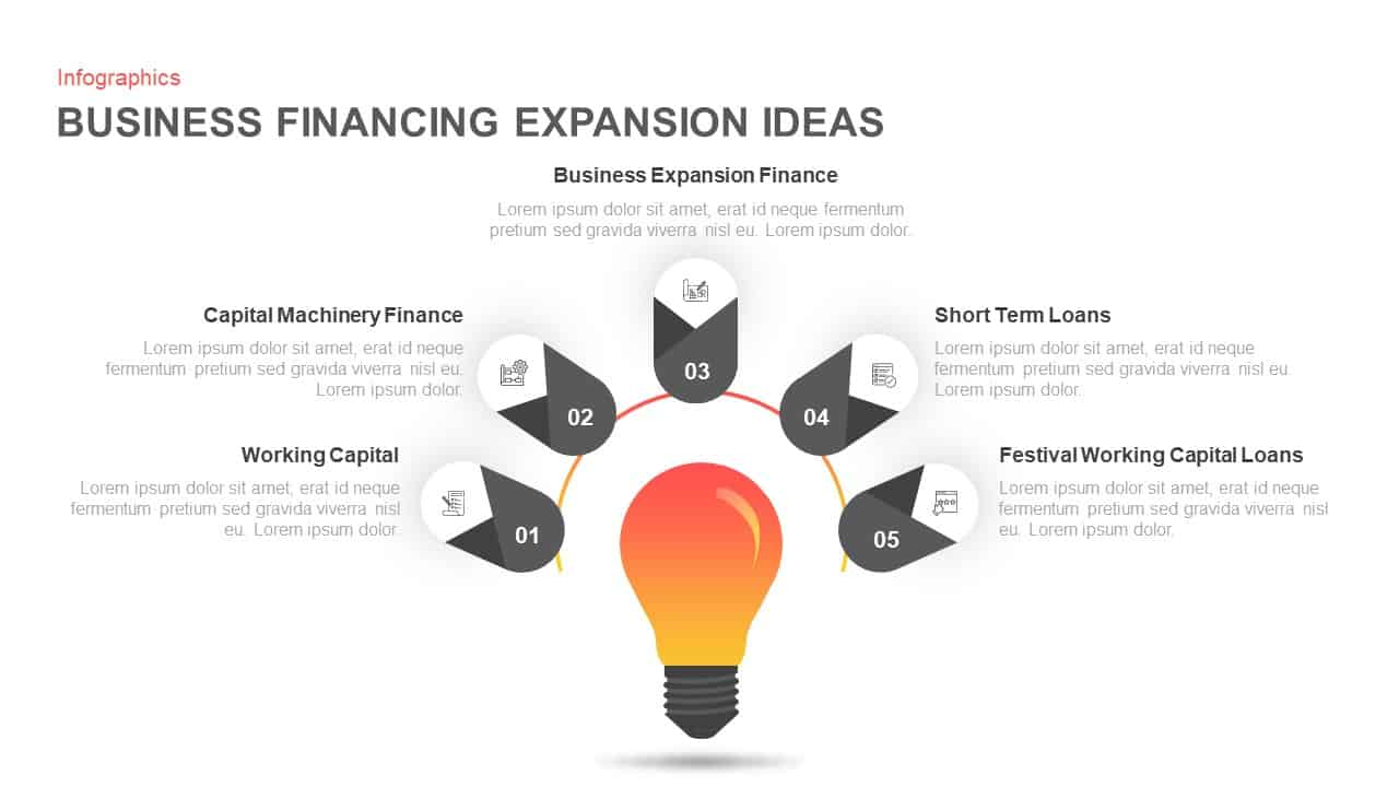 Business Financing Expansion Ideas Ppt Diagram