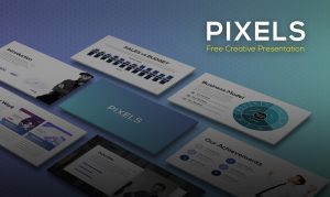 Pixels | Free Creative Presentation Templates for PowerPoint & Keynote