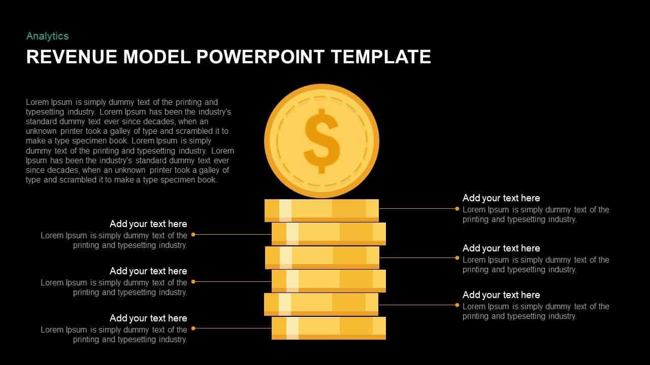 Revenue Model Ppt Template