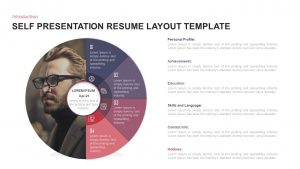 Self Presentation Creative Resume Ppt Layout Template