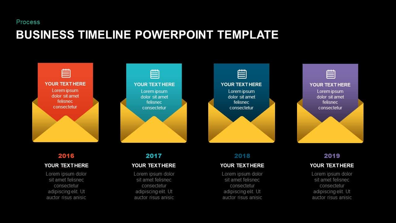 Business Timeline Ppt Template
