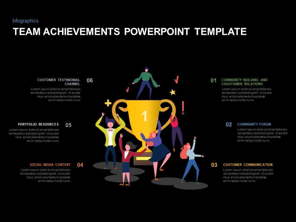 Team Achievement Presentation Ppt PowerPoint Template