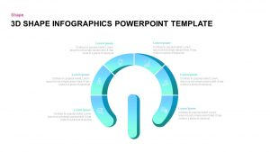 3D Shape Infographic PowerPoint Template