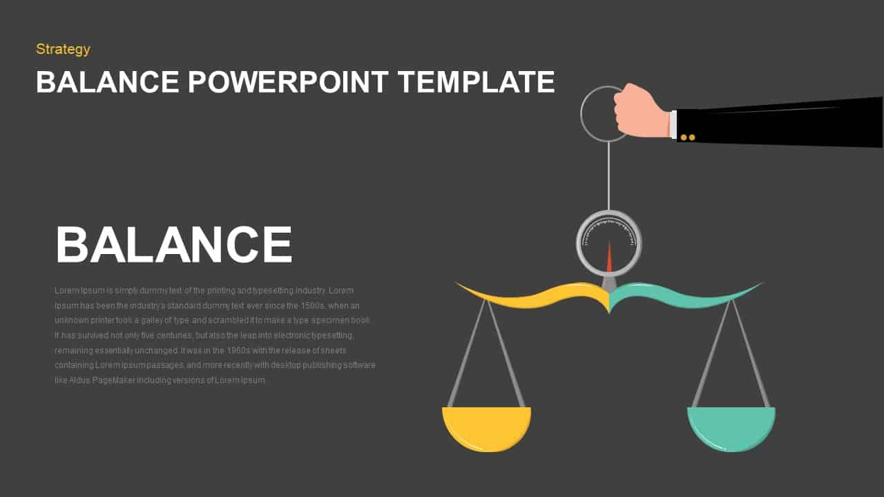Balance Template for PowerPoint