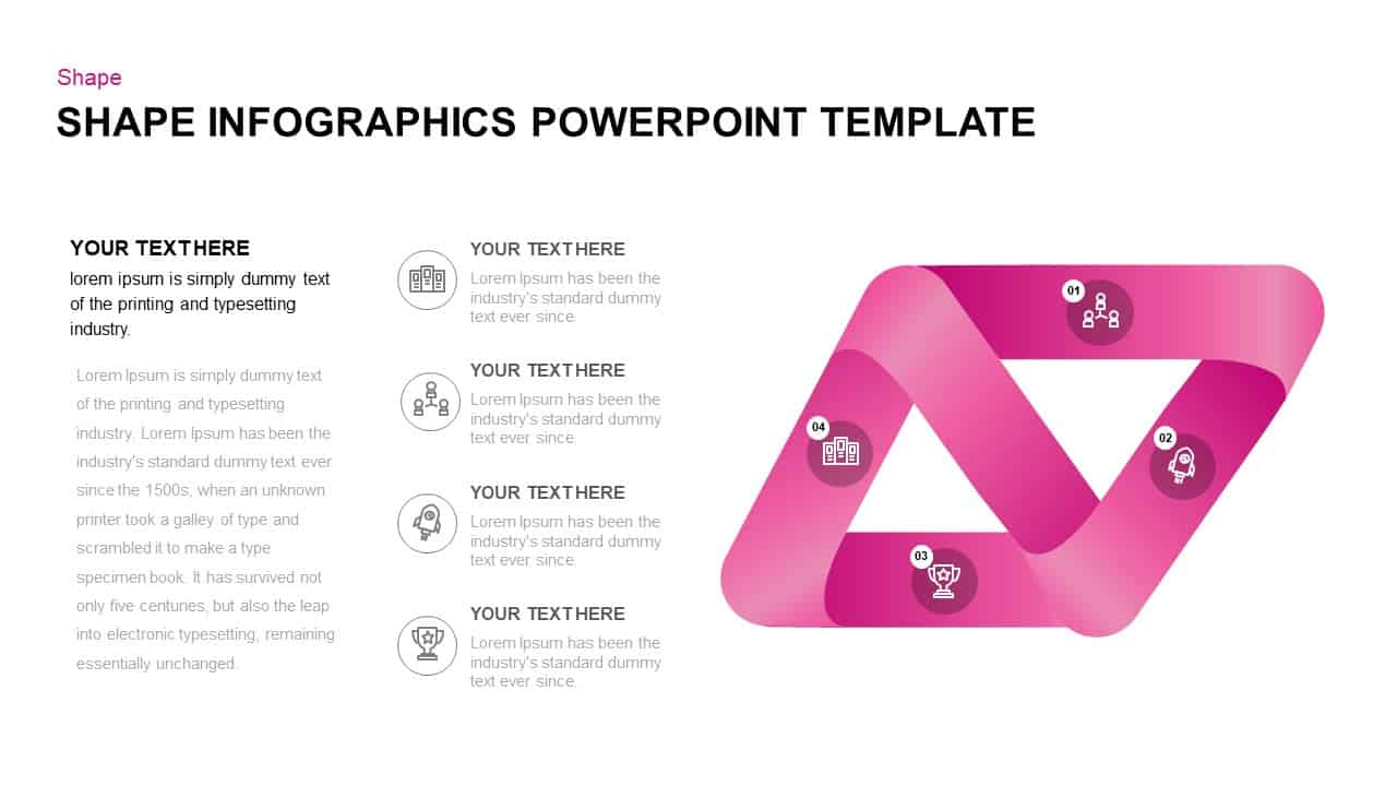 Shapes PowerPointTemplate