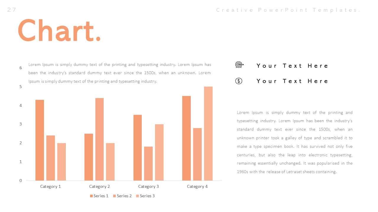 Creative Chart PowerPoint Templates