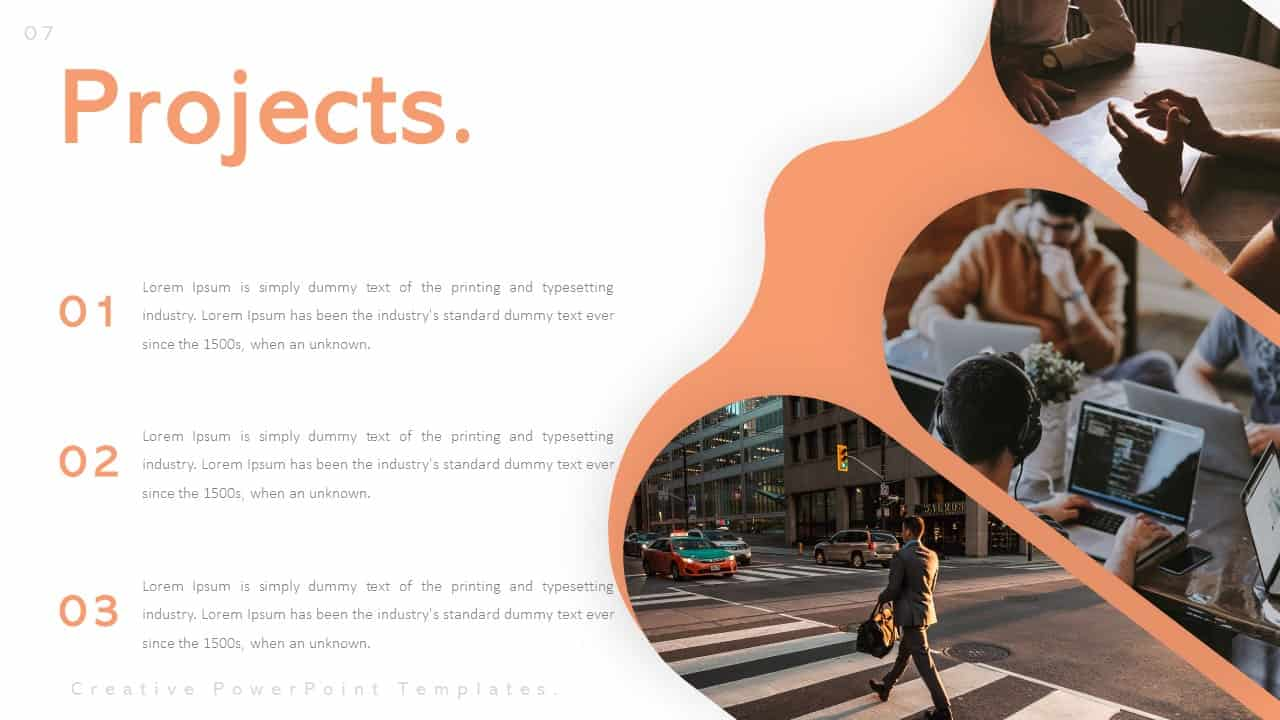Creative PowerPoint Templates for Projects