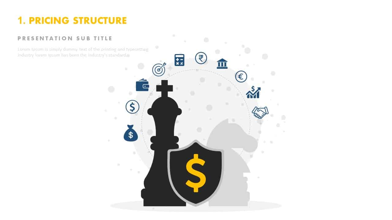 Pricing structure template PowerPoint