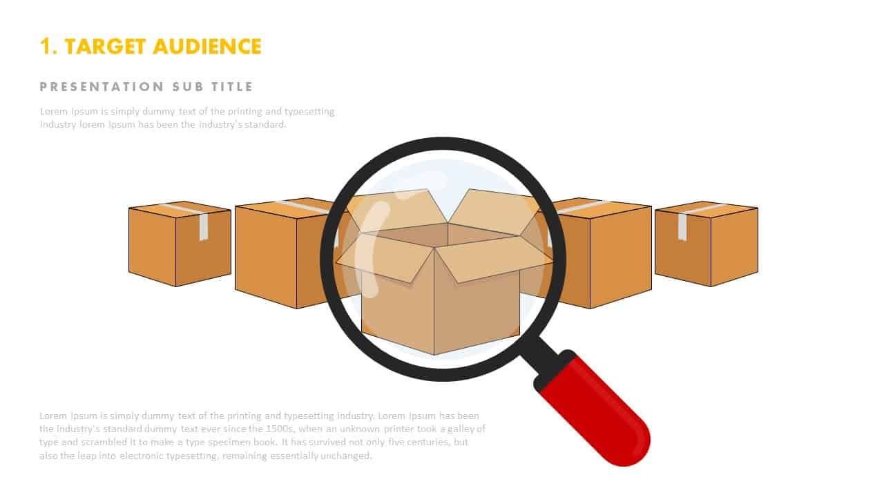 Target audience template ppt for PowerPoint