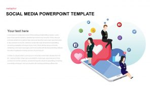 Social Media Template for PowerPoint Presentation
