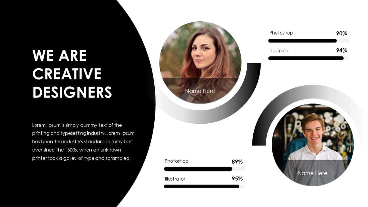 Business PowerPoint Presentation Designers Template