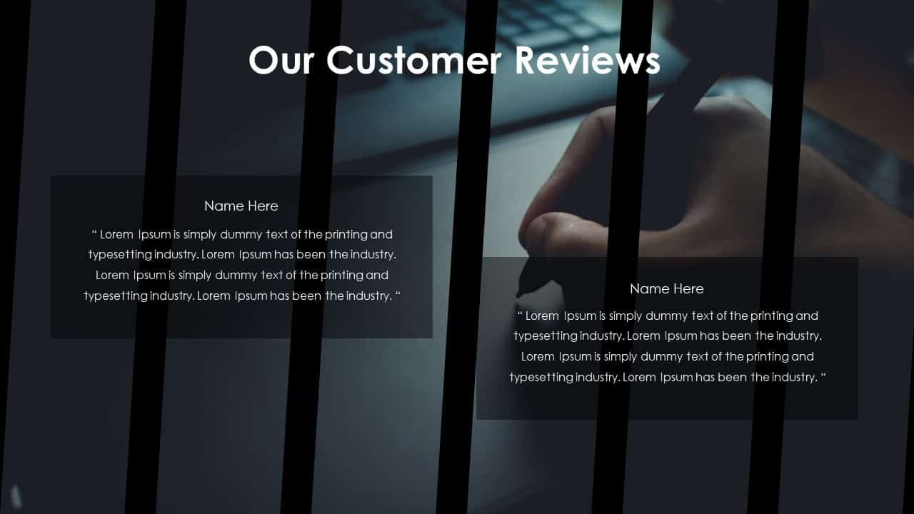 Business PowerPoint Presentation Template our Customer Reviews