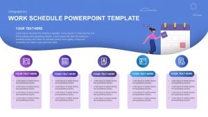 Work Schedule PowerPoint Template