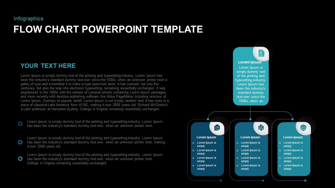 flowchart PowerPoint template